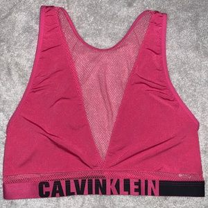 Calvin Klein Unlined Bralette Large